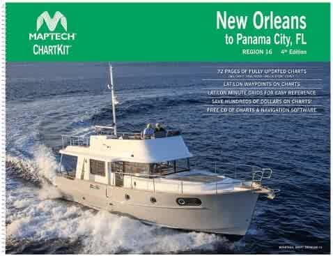 MAPTECH New Orleans to Panama City, FL Chart Book