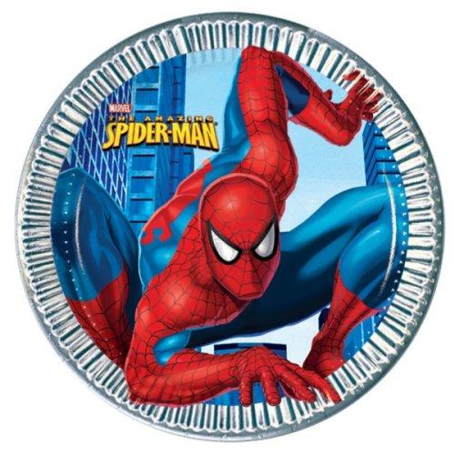 Spiderman Platos Cumpleaños CUMP/FIES: Amazon.es: Ropa y ...
