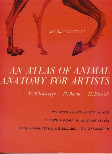 An Atlas of Animal Anatomy for Artists Enlarged Revised Edition