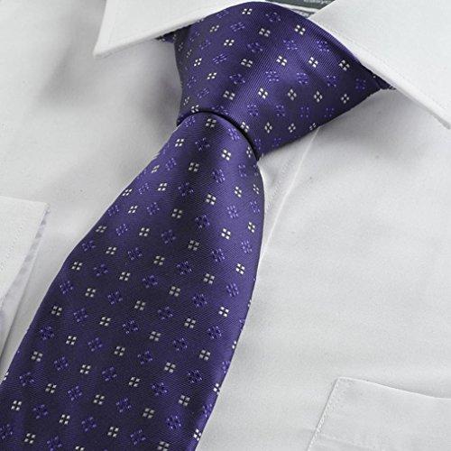 Di Viola Classico Degli Plaid Diamante Di Cravatta Mendeng Del Uomini Modello Business zP0wqSzpr