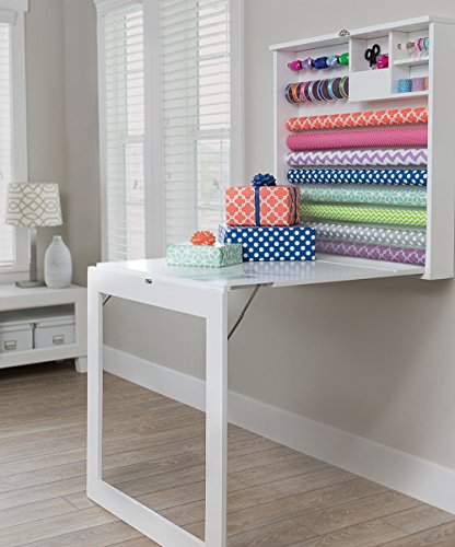 Wrapping Station - American Crafts We R Memory Keepers Fold Down Gift Wrap Station Desk