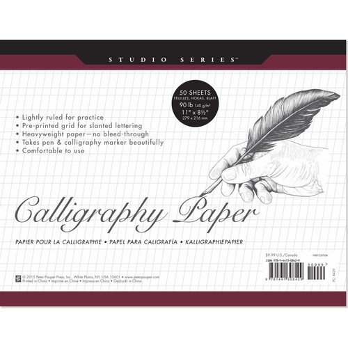 Price comparison product image Studio Series Calligraphy Paper Pad: 50 Sheets