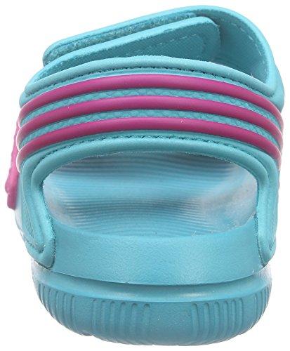 adidas Akwah 9 I Sandalias, Unisex bebé Verde / Rosa (Verimp / Eqtros / Verimp)
