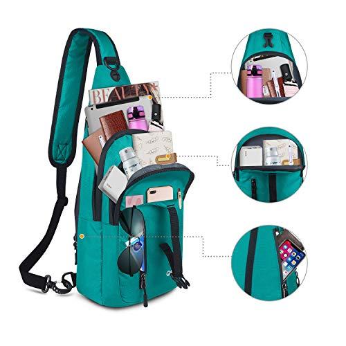 Amazon.com: CARQI Bolsa bandolera impermeable mochila de ...
