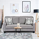 Best Futon Sofas - Giantex Futon Sofa Couch Loveseat Fabric Upholstered Removable Review