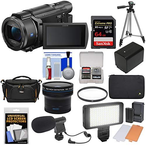 Sony Handycam FDR-AX53 Wi-Fi 4K Ultra HD...