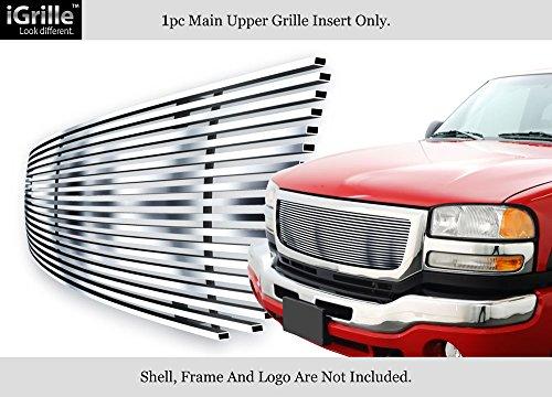 - APS Fits 03-06 GMC Sierra 1500/2500HD/3500 Stainless Steel Billet Grille Insert #G85371C