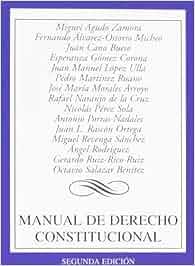 Manual de Derecho Constitucional Derecho - Biblioteca