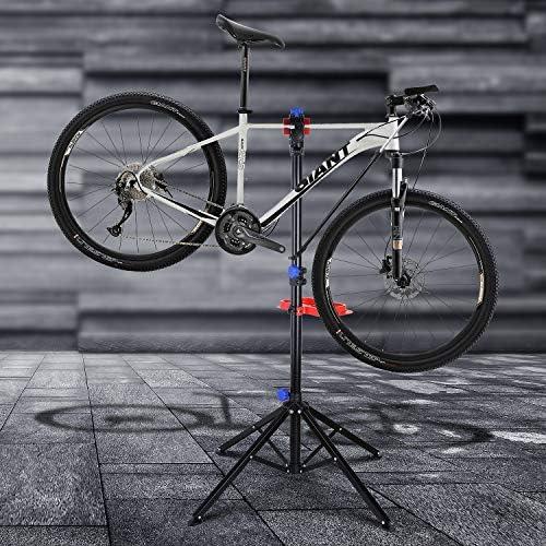 Añadiendo al carrito...Añadido a la cestaNo añadidoNo añadidofemor Montaje de Bicicleta con Portaherramientas Marco, Trípode de Reparación de Bicicleta, Altura Ajustable y Plegable, Puede Soportar 50 kg, Antideslizante,Tipo: sin o con Marco Telescópico