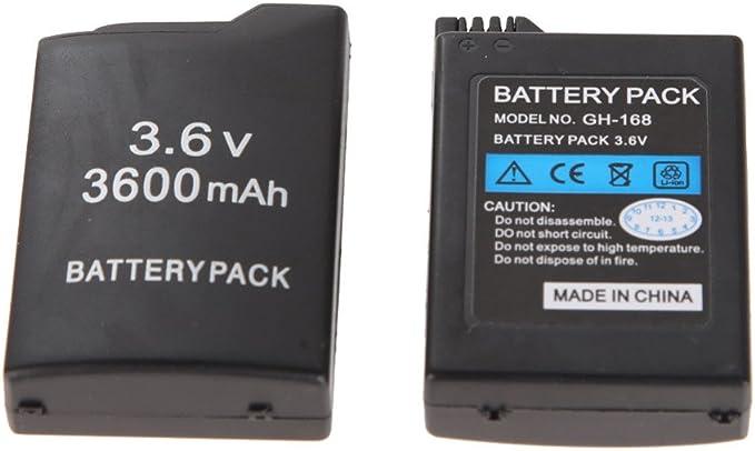SATKIT Bateria para Sony PSP 3600 mah: Amazon.es: Videojuegos