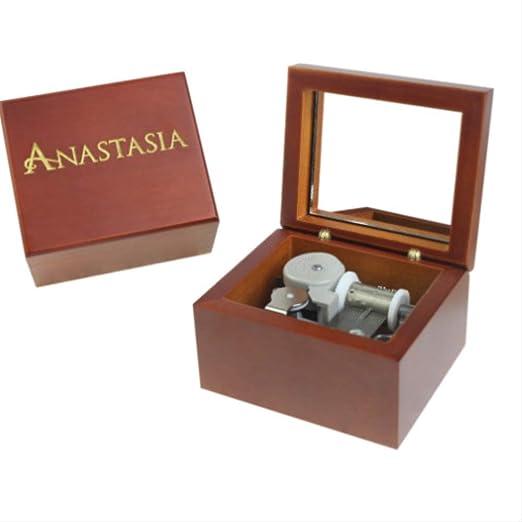 Caja De Música Hecha A Mano De Madera (Anastasia): Amazon.es: Hogar