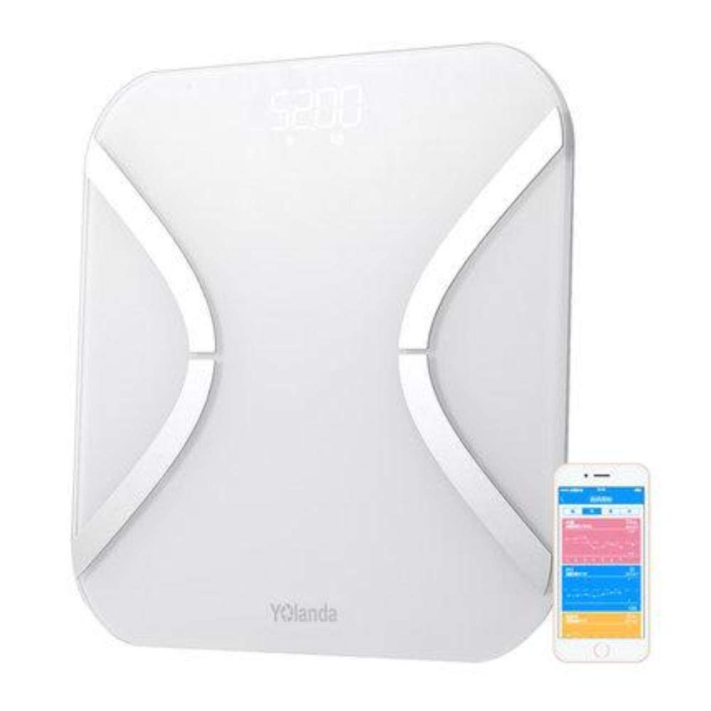 Amazon.com : Smart Scales Digital Weight Body Fat Mini Smart Weight Scale Body Fat Scales Electronic Balance Mi Floor Scales Support Bluetooth App : Sports ...