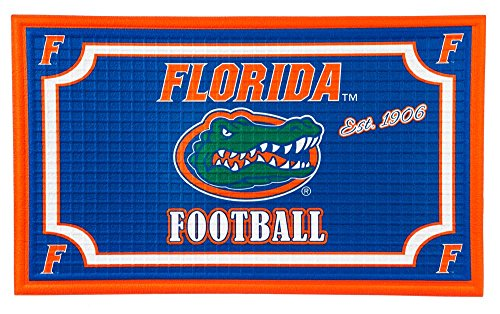Team Sports America 41EM918 Florida State Embossed Door Mat, Multicolor