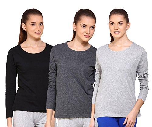 Ap'pulse Women's Long Sleeve T Shirt Small BLK_AM_GM ()