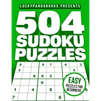 504 SUDOKU Puzzles EASY: Easy Sudoku Puzzle Book for beginners - including Instructions and answer keys