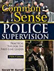 The purpose of this fifth edition is to stimulate the veteran, novice, or would-be police supervisor to utilize his or her most powerful tool, common sense, in carrying out the duties of an effective leader. Made up of life experience, good j...