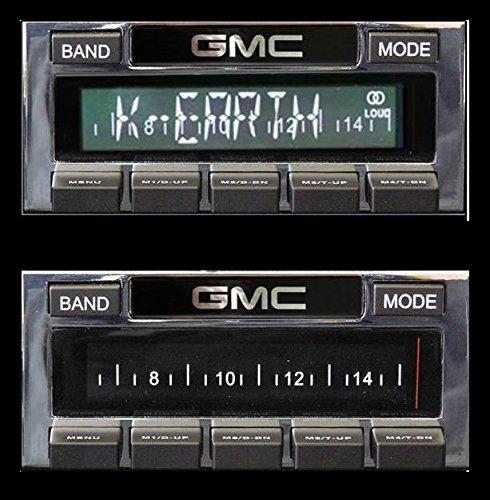 Custom Autosound Stereo compatible with 1967-1972 GMC Pickup USA-630 II High Power 300 watt AM FM Car Stereo//Radio # CAM-GMTKL-USA 630 II