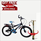 Speed Bird K30 Child Cycle - Kids Sports Bicycle For Boys & Girls - Age Group 6-9 (Blue & Black)