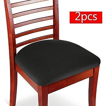 Amazon Com Boshen 2pcs Elastic Spandex Chair Stretch Seat