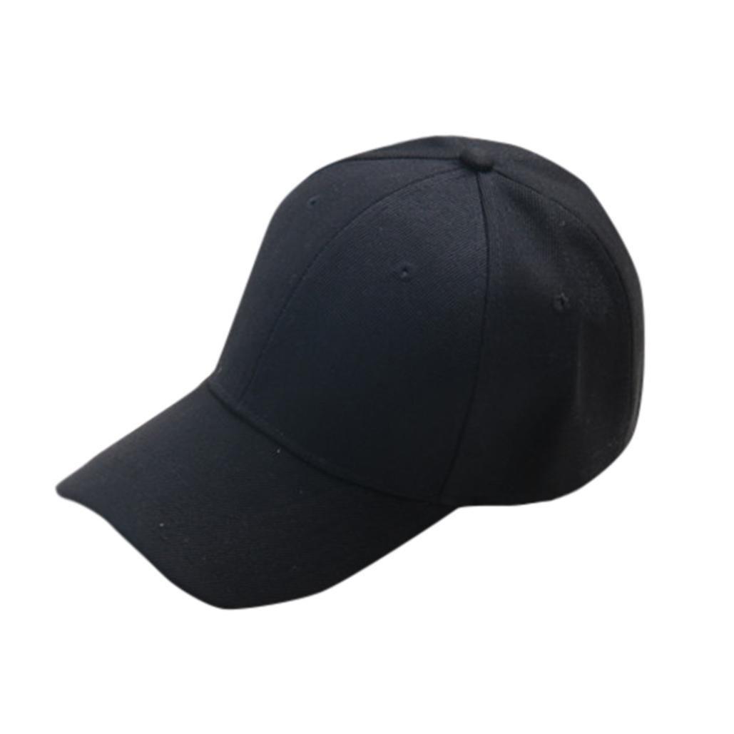 48a11d5c Lavany Kids Hats,Adjustable Baseball Caps Plain Hat Boys Girls Color  Optional (Black): Amazon.ca: Clothing & Accessories