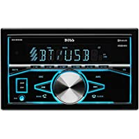 BOSS Audio 820BRGB Double Din, Bluetooth, MP3/USB/SD AM/FM Car Stereo,   Wireless Remote, Multi Color Illumination, (No CD/DVD)