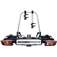 Uebler 15760 Anhänger-Kupplungsträger X21-S für 2 Fahrräder mit EuroBE E-Bike geeignet