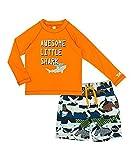 Skechers Boys' Suit Set with Rashgaurd Swim Shirt (6)
