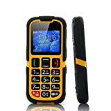 Senior citizen rugged phone now comes fully integrated, designed specifically for senior citizen or people who have trouble seeing or writing.  Senior citizens need three things from their phone. Simple functions and interface, large easy to ...