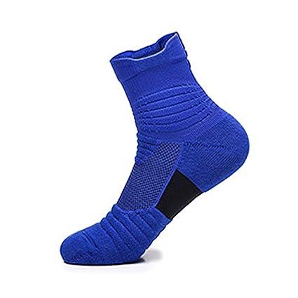 ZHAO YING Calcetines Profesionales De Baloncesto - Parte Inferior De Toalla - Antideslizante - Calcetines De