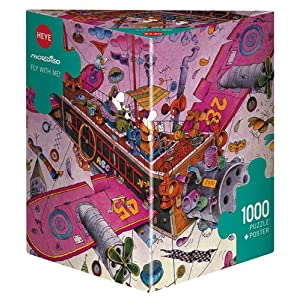 Fly With Me Puzzle 1000 Teile Inglese Gioco 1 Feb 2019