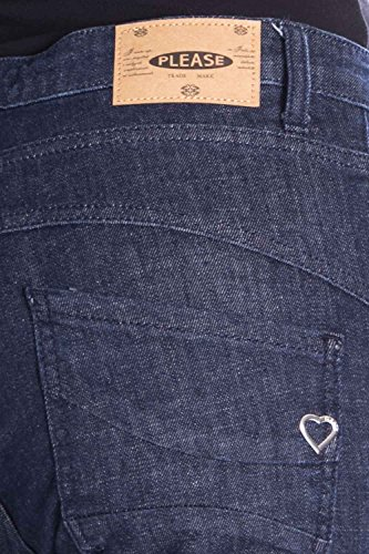 para Please Mujer Please Vaqueros Denim Vaqueros q1Fx5t