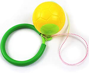 Skip Ball - Jumping Toy Swing Balls - Great Fitness Game for Men and Women, Old and Young