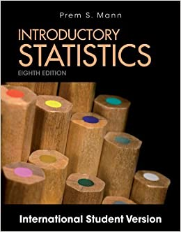 Book Introductory Statistics by Prem S. Mann (2013-02-05)