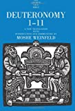 Deuteronomy 1-11, Weinfeld, Moshe and Seely, David R., 0300139438