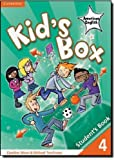 Kid's Box American English Level 4 Student's Book, Caroline Nixon and Michael Tomlinson, 0521177944