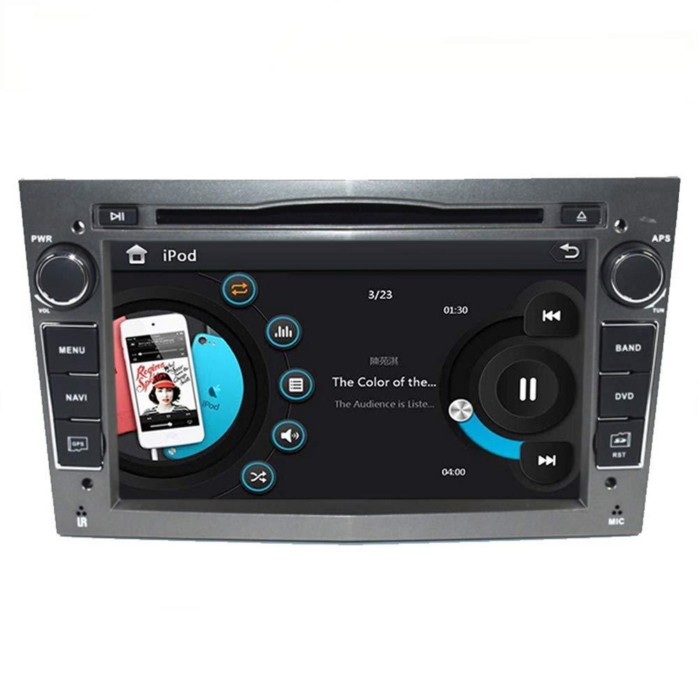 Freeauto 17, 8 cm auto audio stereo doppio DIN in dash per Opel Corsa 2006 –  2011/Vectra 2005 –  2008/Antara 2006 –  2011/Vivaro 2006 –  2010 autoradio FM/AM radio stereo