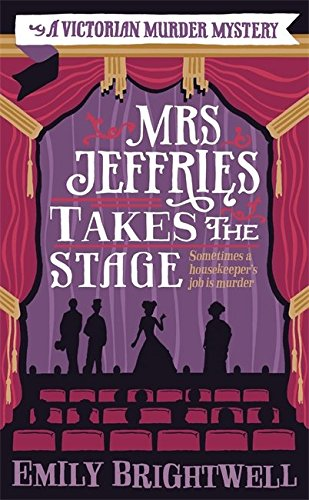 book cover of Mrs Jeffries Takes the Stage