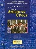 American Civics, Holt, Rinehart and Winston Staff, 0030676886