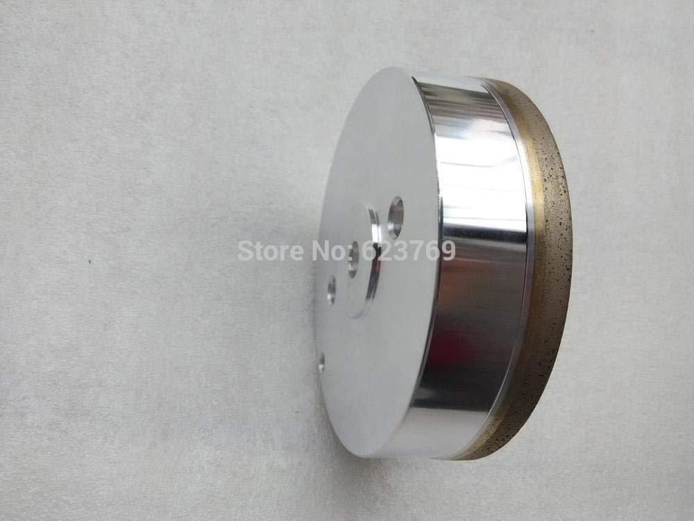 Maslin RZZ Diamond Grinding Disc Abrasive Cup Disc Glass Edger Machine Disc 100mm Grit #240 - (Grit: 240, Color: Hole diameter 50mm)
