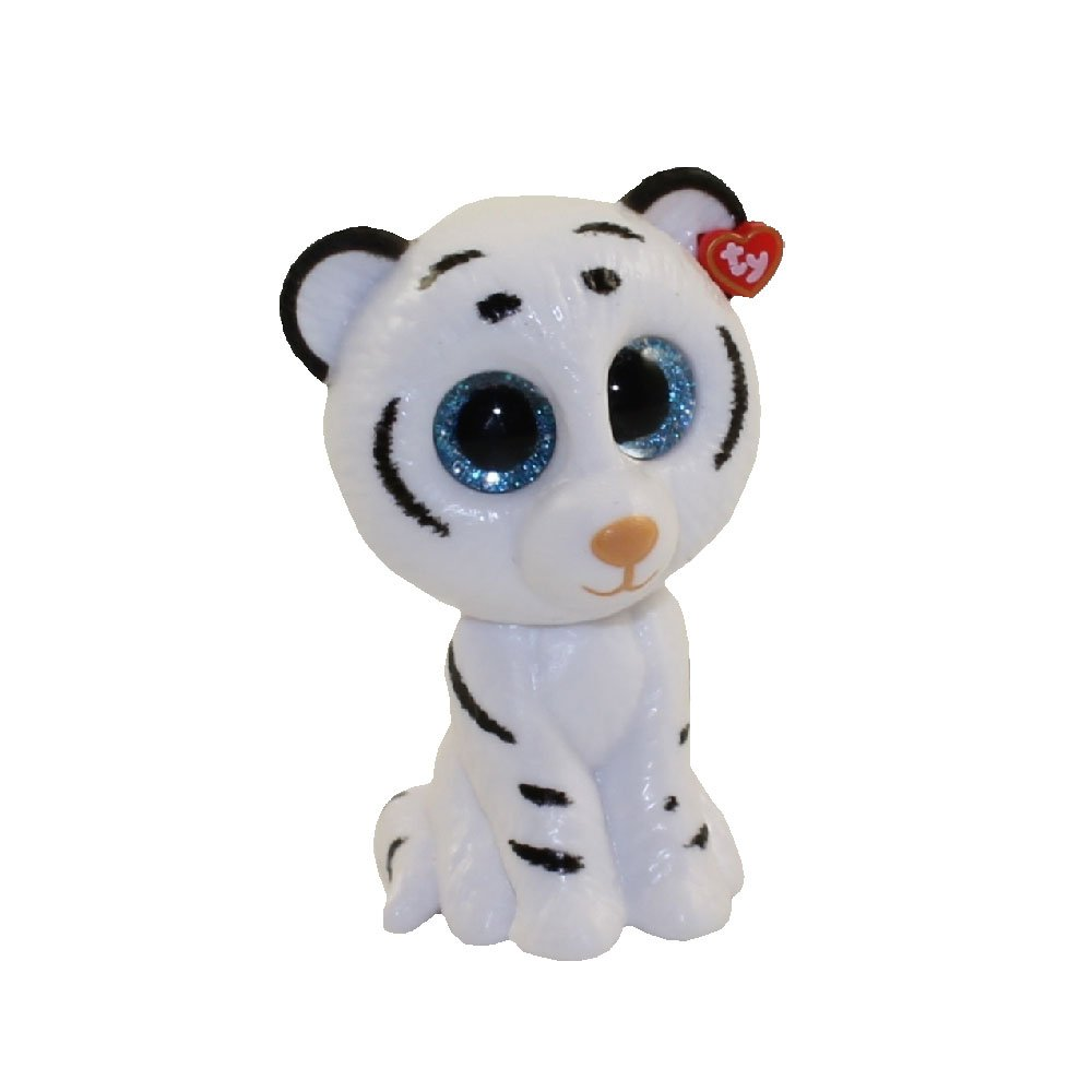 d58cac84f4b Amazon.com  TY Beanie Boos - Mini Boo Figures Series 2 - TUNDRA the White  Tiger (2 inch)  Toys   Games