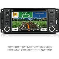 AIMTOM AMN-3012-MB Jeep Wrangler Liberty Dodge Grand Caravan Nitro RAM 1500 2500 3500 In-dash GPS Navigation Radio Bluetooth DVD CD Stereo Touchscreen AV Receiver FM AM USB SD Player w/ iGo Primo Maps