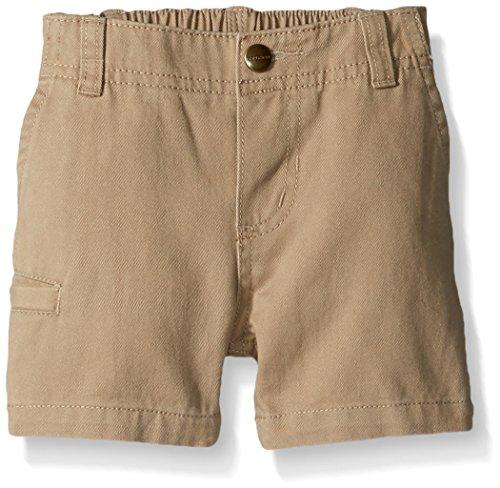 Tan Boys Shorts (Carhartt Baby Boys' Short, Dark Tan, 6M)