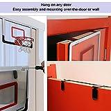 Iserlohn Mini Basketball Hoop, Over The Door Use