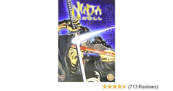 Amazon.com: Ninja Scroll [DVD]: Movies & TV
