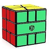 D-FantiX X-Man Volt Square-1 Speed Cube SQ-1 Magic Cube Puzzle Toys Black