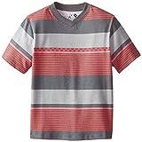 C-Life Group Little Boys' V-Neck Roller Printed Stripes