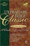 The Holman UltraThin Bible, Ultra Thin Classic Staff, 1558197923