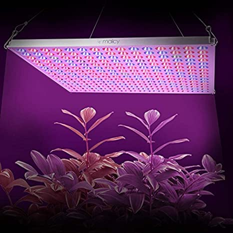 MAIICY Advanced Full Spectrum 300W Led Plant Light Hanging Lamp with UV IR for Greenhouse Hydroponic Indoor Plants Growing Veg and Flower LED Grow Light for Indoor Plant