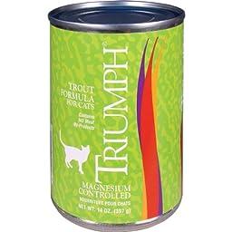 Triumph Trout Cat Food - 12x13oz