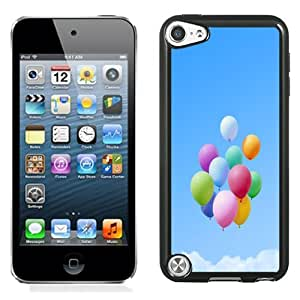 Fashion DIY Custom Designed iPod Touch 5th Generation Phone Case For Colorful Festival Balloons Phone Case Cover
